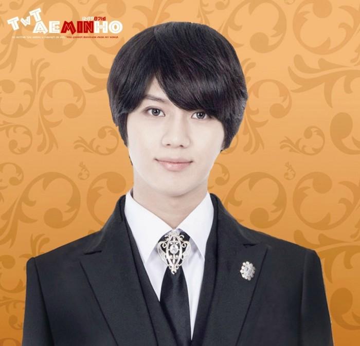 """Taemin para el musical """"Goong"""""""
