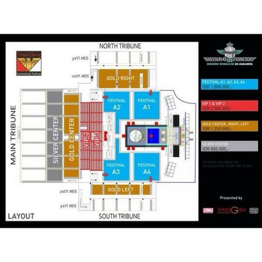SHINee World 3 concierto en Jakarta
